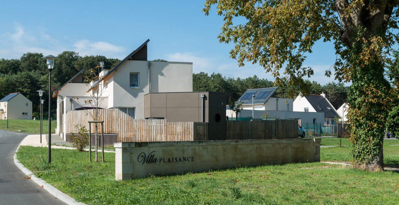 Villa Plaisance, St-Hilaire-St-Florent, Seigneurin, architecte