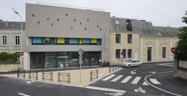 Le Quart Ney, vue d'ensemble, Angers, Sophie Seigneurin, architecte